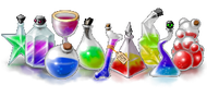 Sample potion designs
